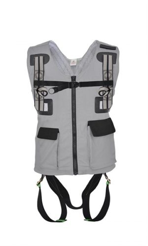 2 Point Full Body Harness With Work Vest