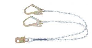 'Y' Forked Kernmantle Rope Lanyard 1.5 mtr